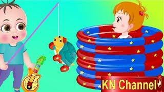 Hoạt hình KN Channel BÉ NA và HỒ BƠI THẦN KỲ CÂU ĐƯỢC ĐỒ CHƠI | Hoạt hình Việt Nam