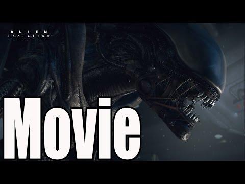 Alien Isolation All Cutscenes / The Movie /  Full Game Movie