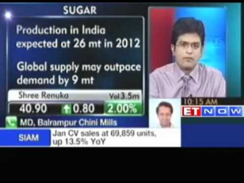 Balrampur Chini: Expect domestic sugar prices to move up