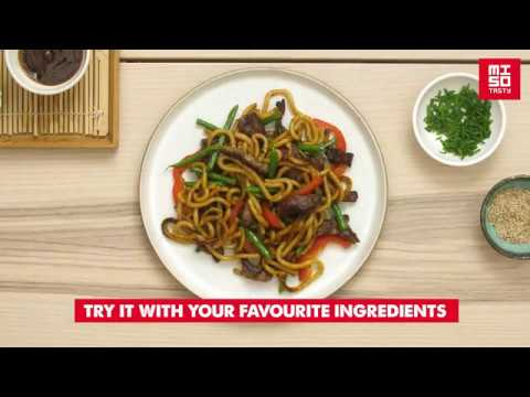 How to make our Miso Tasty Udon Noodle kit