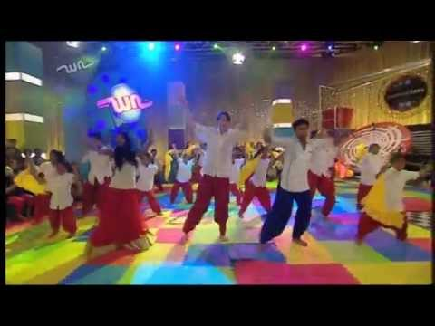 Gem, Adam and Ronnie dance with Bollywood Dreams!