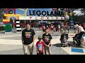 LEGOLAND FLORIDA with THUNDERSTORMS, ROLLERCOASTERS and SMORES