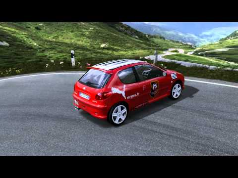Forza Motorsport 4: Peugeot 206 RC version Stade Rennais