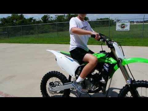 $4.599 The New 2014 Kawasaki KX100 with 20% More Power!