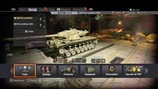 Présentation de World of Tanks sur PS4