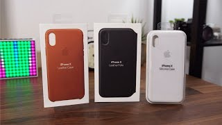 Hands On: Apple iPhone X Case Lineup