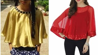 DIY Cape for dresses and saree