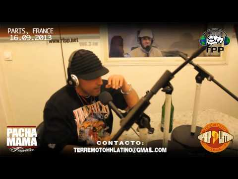 RADIO TERREMOTO HIPHOP LATINO (Paris,Fr) CAPITULO 10 - 16.09.2013