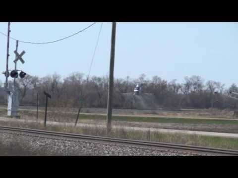 (HD) A WTF Railfan Moment: Low Flying Helicopters Spraying Right of Way