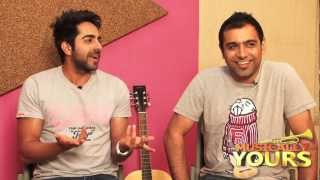 Ayushmann Khurrana Rochak Kohli Exclusive On Nautanki Saala Music