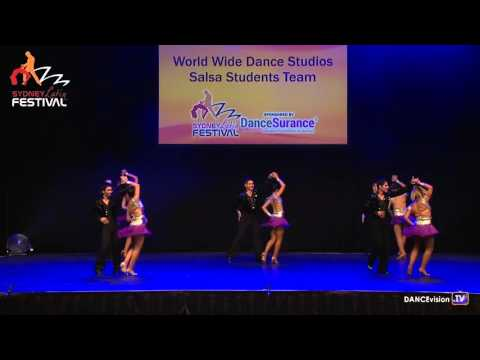 Worldwide Dance Studios Salsa Students Team