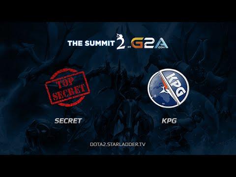 Secret Team vs Kompas Gaming The Summit 2 Day 15 Game 5