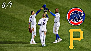 Cubs vs Pirates Highlights | 8/1