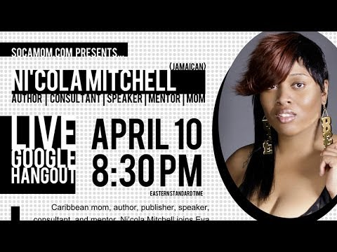 Caribbean Parenting Month Spotlight: A Live Chat with Author Ni'cola Mitchell #Jamaica #Caribbean...