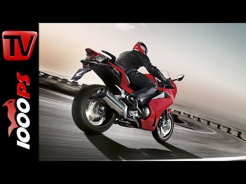 Review   Prueba   Honda VFR 800 F 2014 - Action. Sound. Impression + Español