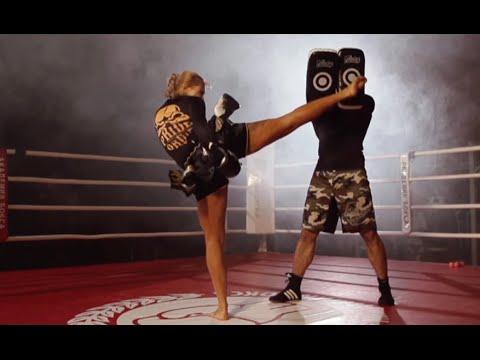 Как это происходит? Тайский бокс. Удар маваши гери