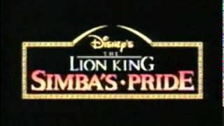 Lion King II Simba's Pride (teaser)