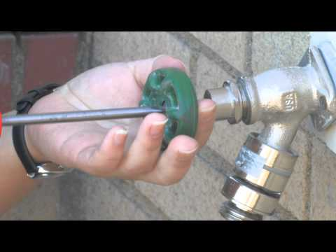 How to Fix a Leaky Outdoor Faucet , How do you fix a leaky spigot