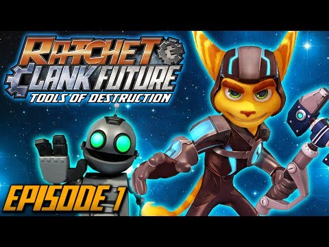 Ratchet and Clank: Future Tools of Destruction - Episode 1 (Walkthrough / Playthrough / Let's Play)