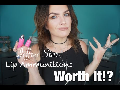 Jeffree Star Lip Ammunition Review + Dupes!