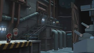 Fort Cobalt (Big Paint Star) - Paper Mario: Color Splash Walkthrough