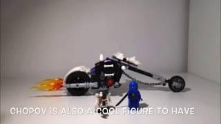 Lego Ninjago Skull motorbike review
