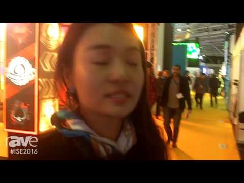 ISE 2016: Marvel Technology (China) Co., Ltd. Showcases 3D Holographic Display Box