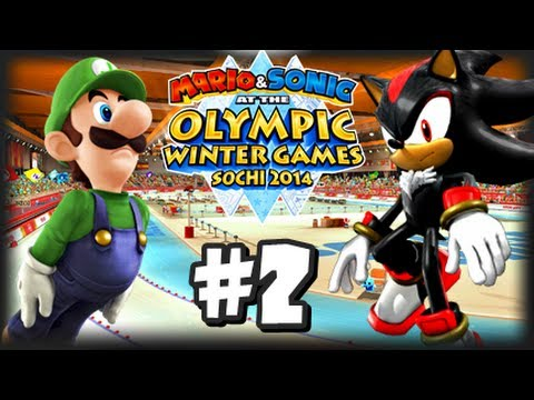 Mario & Sonic At the 2014 Sochi Winter Olympic Games - (1080p) Part 2