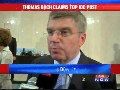 Thomas Bach elected new IOC Pres