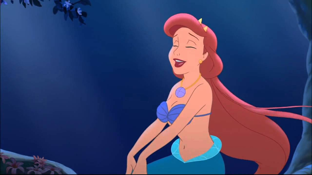 The Little Mermaid 3 Athena S Song Japanese Youtube