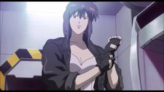 Ghost in the shell Batou Vs The Major