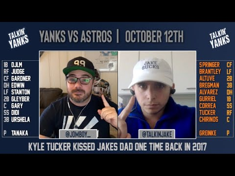 Yanks vs Astros | ALCS Game 1 | Talkin' Yanks Pre-Game Show