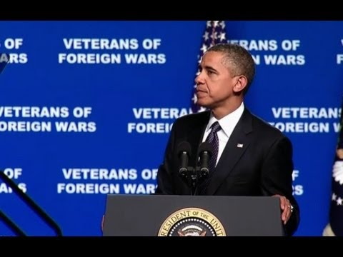 President Obama Speaks to the 113th Convention of the Veterans of Foreign Wars