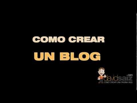 Como crear un blog | Confeccionar un blog que sea efectivo