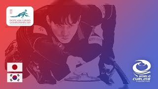 Japan v Korea - Men - Round Robin - Pacific-Asia Curling Championships 2018