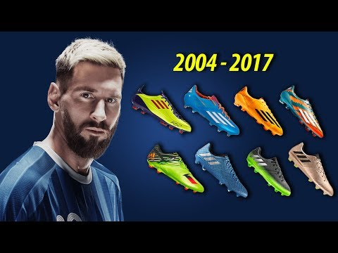 The Evolution of Lionel Messi's Boots II 2004 - 2017 II