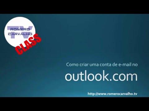 Como criar uma conta de e mail gratuito no Outlook com
