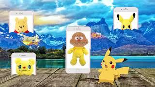 Anpanman ❤ Pikachu ❤ Curry Panman ❤ Đối Với Trẻ Em ❤ Pikachu Là Vui Vẻ