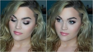 Drugstore Full Face Makeup Tutorial | Everyday Neutral Look!