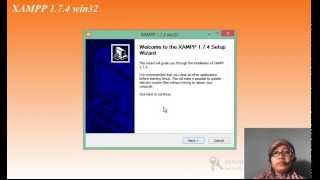 tutorial/cara instal xampp di windows 8