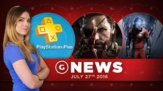 Metal Gear Solid V: Definitive X, Prey Details, Playstation Plus August Titles - GS Daily News