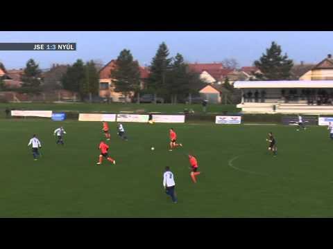 Jánossomorja - Nyúl labdarúgó mérkőzés összefoglalója - 2014.11.23.