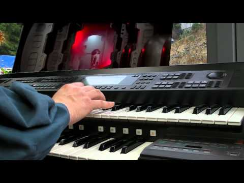 Star Wars -  Star Trek -  Galactica -  Chariots of Fire -  Movie Medley on Yamaha El-90