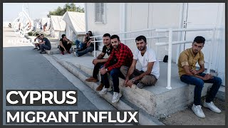 Cyprus struggling with influx of refugees