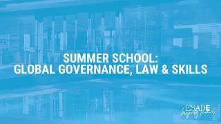 Summer School: Global Governance, Law & Skills