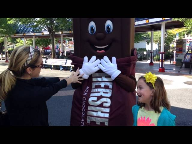 Hersheypark Sweet Start #HersheyPA