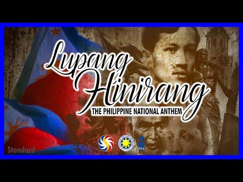 Julian Felipe - Lupang Hinirang