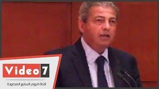 بالفيديو.. وزير الشباب: تكلفة إنشاء مركز التنمية الشبابية وصلت لـ150 مليون جنيه