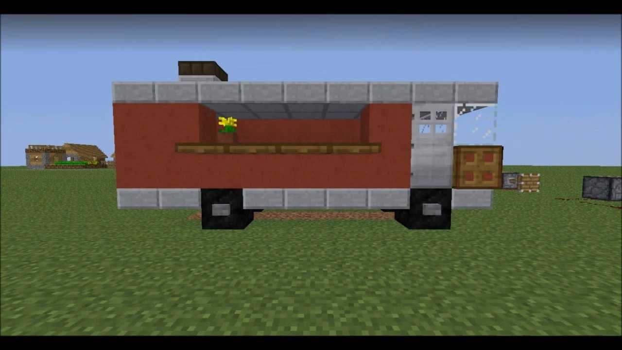 Minecraft Pickup Truck Builds