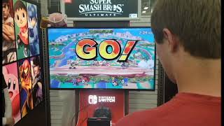 Super Smash Bros Ultimate Best Buy Demo